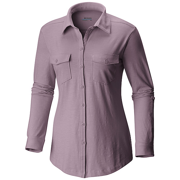 Columbia Rocky Ridge Long Sleeve Womens Shirt, Sparrow, 600