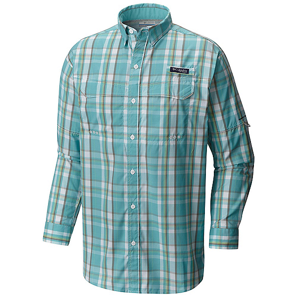 Columbia PFG Super Low Drag Long Sleeve Mens Shirt, , 600