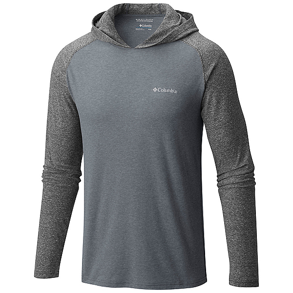Columbia Trail Shaker Mens Hoodie, Grey Ash Heather, 600