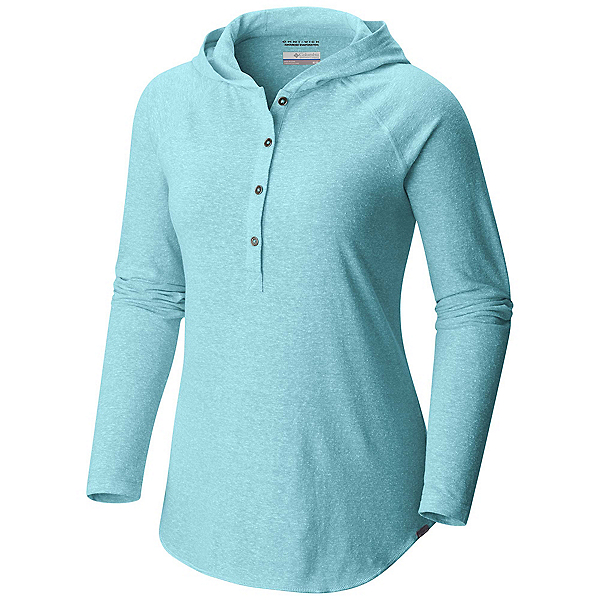 Columbia Trail Shaker Womens Hoodie, Iceberg Heather, 600