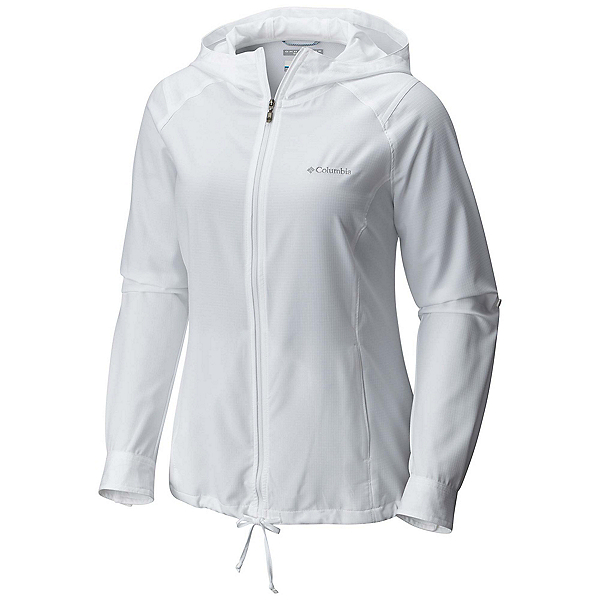 Columbia Silver Ridge Womens Hoodie, White, 600