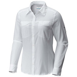 Columbia Silver Ridge Lite Long Sleeve Womens Shirt, White, 256