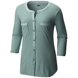 Columbia Vista Hills Henley Womens Shirt, Dusty Green, 256