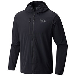 Mountain Hardwear Super Chockstone Hooded Mens Jacket, Black, 256