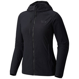 Mountain Hardwear Super Chockstone Hooded Womens Jacket, Black, 256