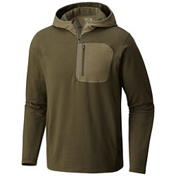Mountain Hardwear Cragger Pullover Mens Hoodie, Peatmoss, 256
