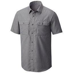 Mountain Hardwear Canyon Short Sleeve Mens Shirt, Manta Grey, 256