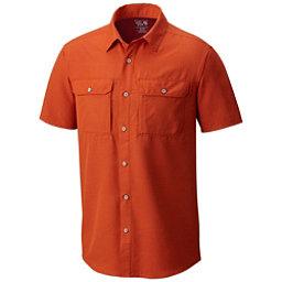Mountain Hardwear Canyon Short Sleeve Mens Shirt, Bonfire, 256