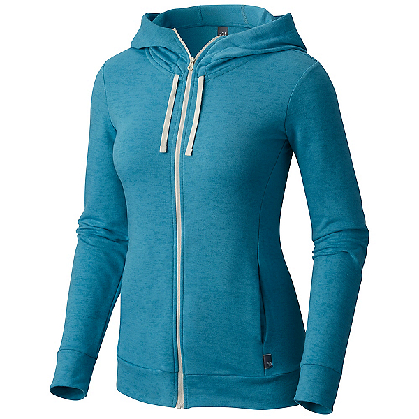 Mountain Hardwear Burned Out Full Zip Womens Hoodie, Shasta, 600
