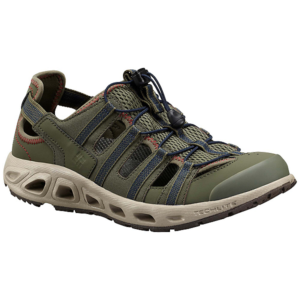 Columbia Supervent II Mens Watershoes, Nori-Collegiate Navy, 600