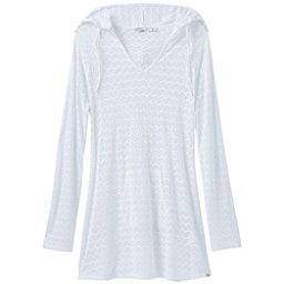 Prana Luiza Tunic Bathing Suit Cover Up, White Chevron, 256