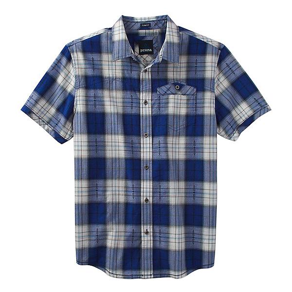Prana Patras Slim Mens Shirt, Cobalt, 600