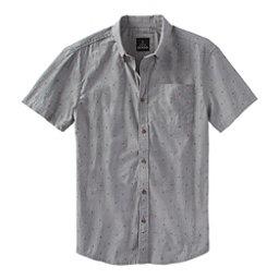 Prana Broderick Standard Mens Shirt, Gravel, 256
