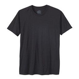 Prana Crew Mens T-Shirt, Black, 256