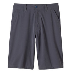 Prana Ansa Mens Hybrid Shorts, Coal, 256