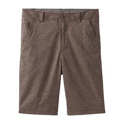Prana Furrow 8in Mens Shorts, Mud, 256