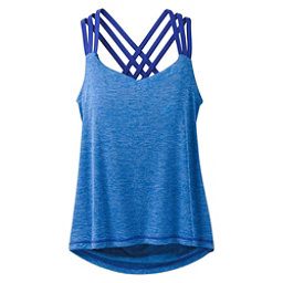 Prana Waterfall Womens Tank Top, Cobalt, 256