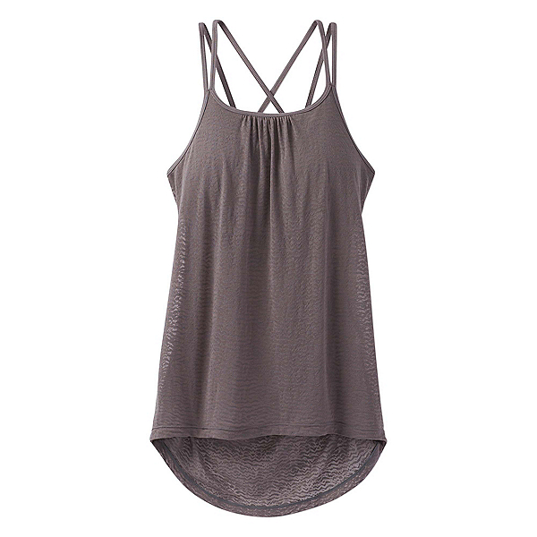 Prana Mika Strappy Womens Tank Top, Moonrock, 600