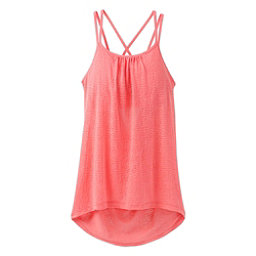 Prana Mika Strappy Womens Tank Top, Summer Peach, 256