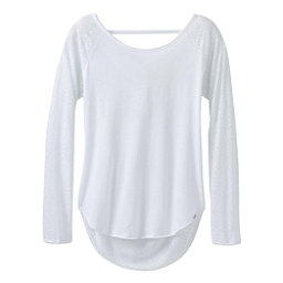 Prana Salsola Top Womens Shirt, White, 256