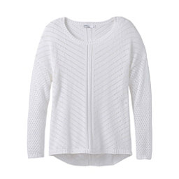 Prana Parker Womens Sweater, White, 256