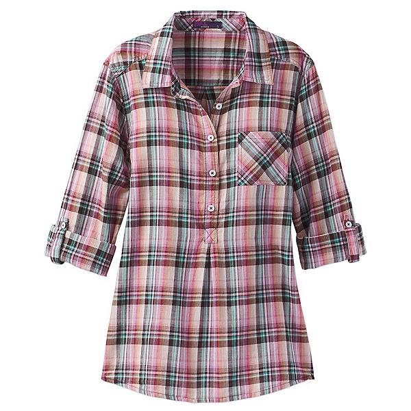Prana Gina Womens Shirt, Wild Orchid, 600