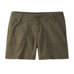 Prana Tess Womens Shorts, Cargo Green, 256