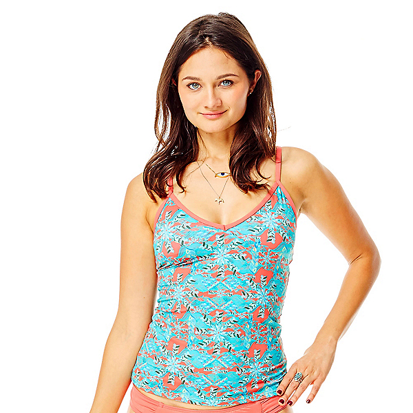 Carve Designs Catalina Tankini Bathing Suit Top, St. Croix-Sunkiss, 600