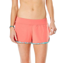 Carve Designs Minna Womens Hybrid Shorts, Sunkiss-St. Croix, 256