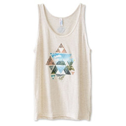 KAVU Heartland Womens Tank Top, Cloudy Skies, 256