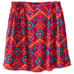 KAVU South Beach Skirt, Jewel Ikat, 256
