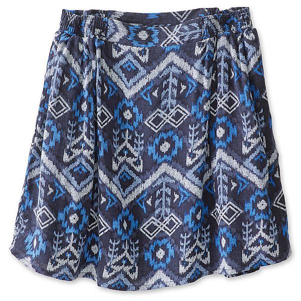 KAVU South Beach Skirt, Blue Ikat, 600