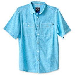 KAVU Jacksonville Mens Shirt, Sea Breeze, 256