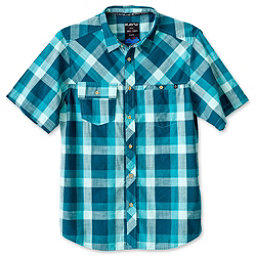 KAVU Pemberton Mens Shirt, Deep Teal, 256