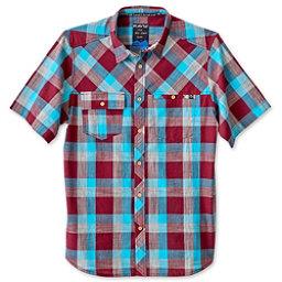KAVU Pemberton Mens Shirt, Burgundy, 256