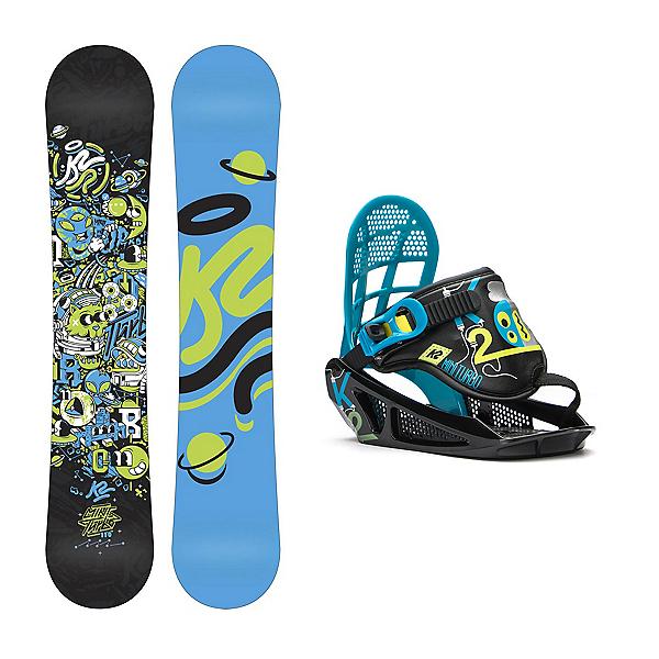 K2 Mini Turbo Kids Snowboard and Binding Package, , 600