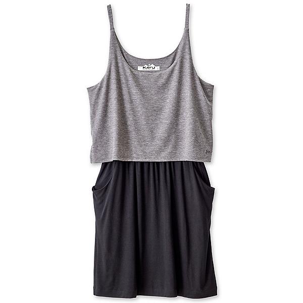 KAVU Coco Dress, Charcoal, 600