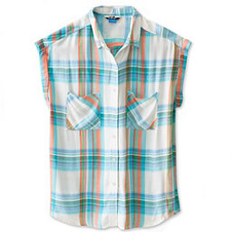 KAVU Belfair Womens Shirt, Beach Vibes, 256