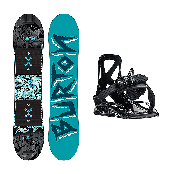 Burton Chopper Grom 2 Kids Snowboard and Binding Package, , 600