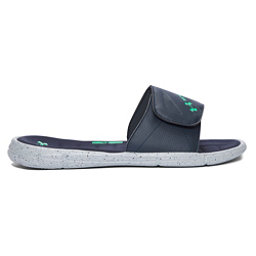 Under Armour Ignite Water Friendly Slide Mens Flip Flops, Blue Drift-Mineral Gray-Vapor, 256