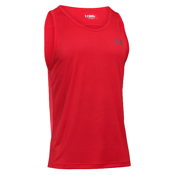 Under Armour Tech Tank Top, Red-Graphite, 600