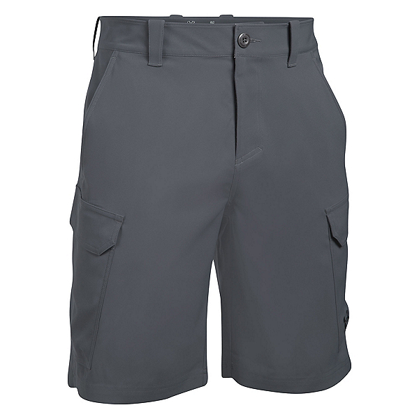 Under Armour Fish Hunter Cargo Mens Shorts, , 600