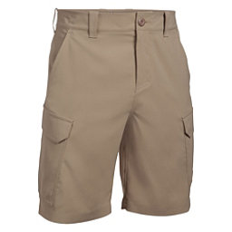 Under Armour Fish Hunter Cargo Mens Shorts, Dune-Bayou, 256