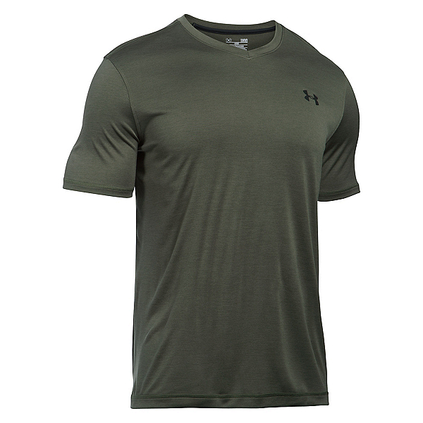 Under Armour Tech V-Neck Mens T-Shirt, , 600