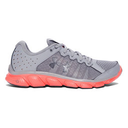 Under Armour Micro G Assert 6 Womens Athletic Shoes, Steel-London Orange-Rhino Gray, 256