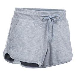 Under Armour Ocean Shoreline Womens Shorts, True Gray Heather-Black, 256