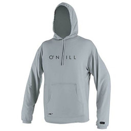O'Neill 24-7 Tech Long Sleeve Hoodie Mens Rash Guard, Cool Grey, 256