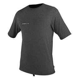 O'Neill Hybrid Short Sleeve Surf Mens Rash Guard, Graphite, 256