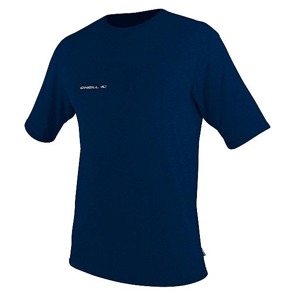 O'Neill Hybrid Short Sleeve Sun Shirt Mens Rash Guard 2020, Abyss, 600