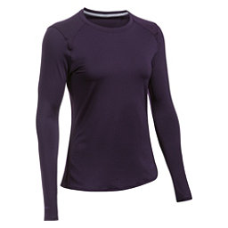 Under Armour Sunblock Long Sleeve Womens T-Shirt, Imperial Purple-Imperial Purpl, 256
